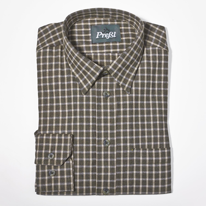 Leicht-Flanell Hemd mit Kent-Kragen
