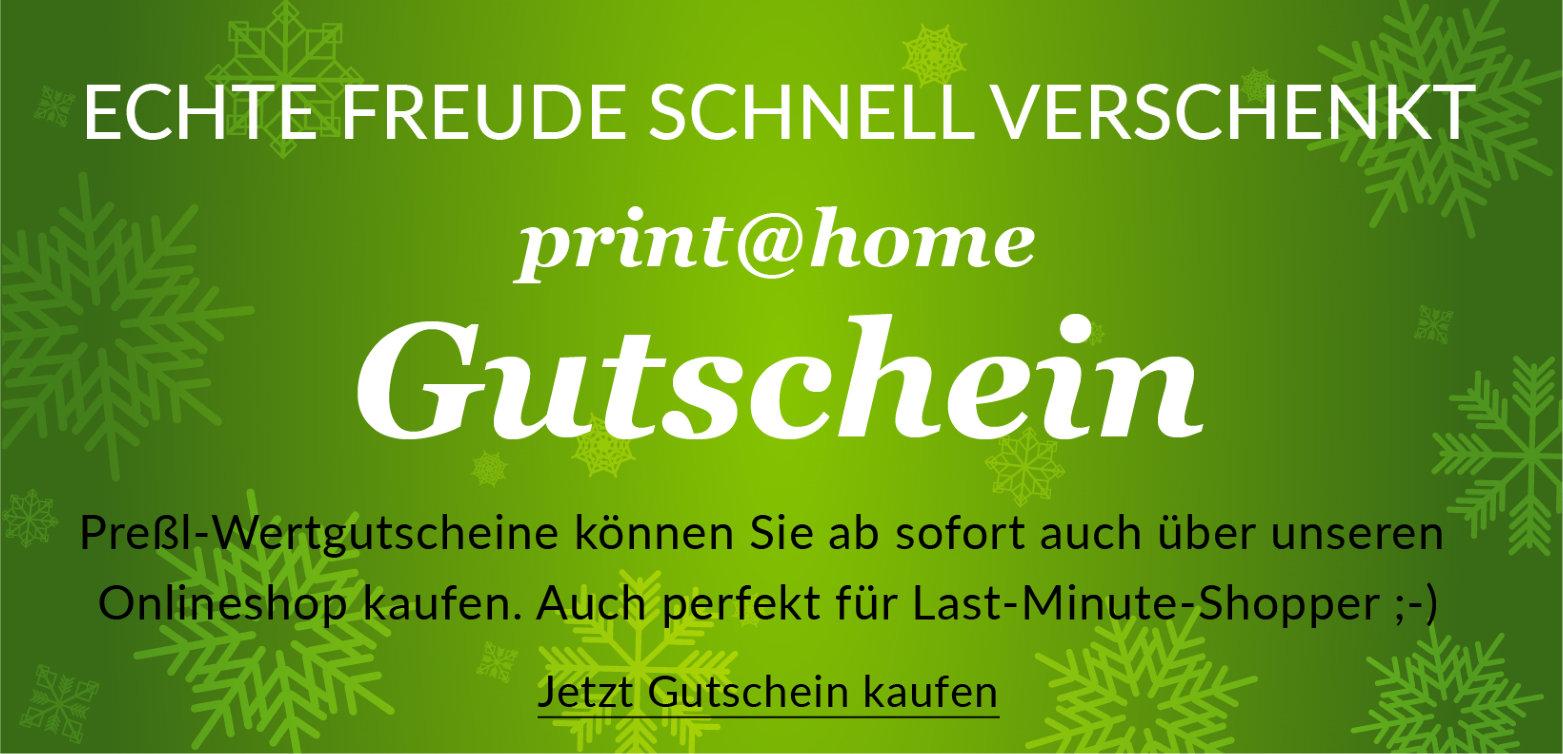 Pressl print at home Gutschein