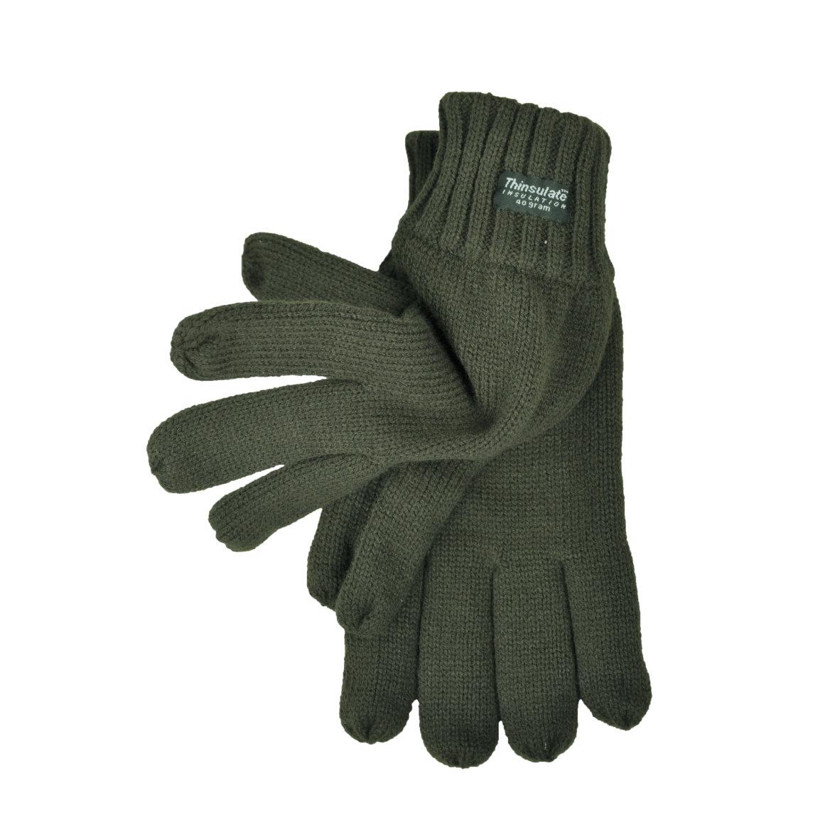 Strick Finger-Handschuhe
