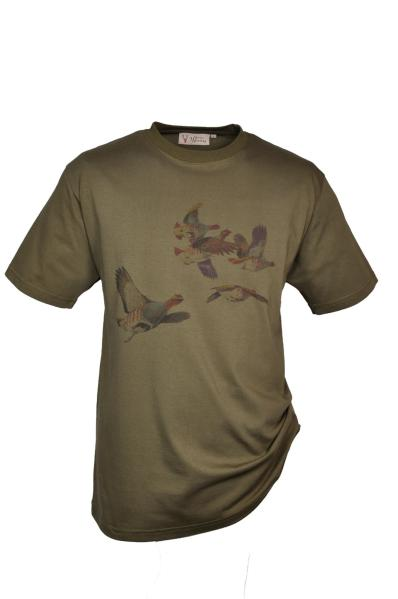 "T-Shirt ""Rebhuhn"""